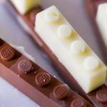 Imagine um LEGO de chocolate. Sim, ele existe!