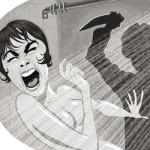 Artista recria cenas de filmes violentos com traços no estilo Pixar