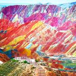 10 lugares pelo mundo que vão fazer você questionar o que conhece sobre cores