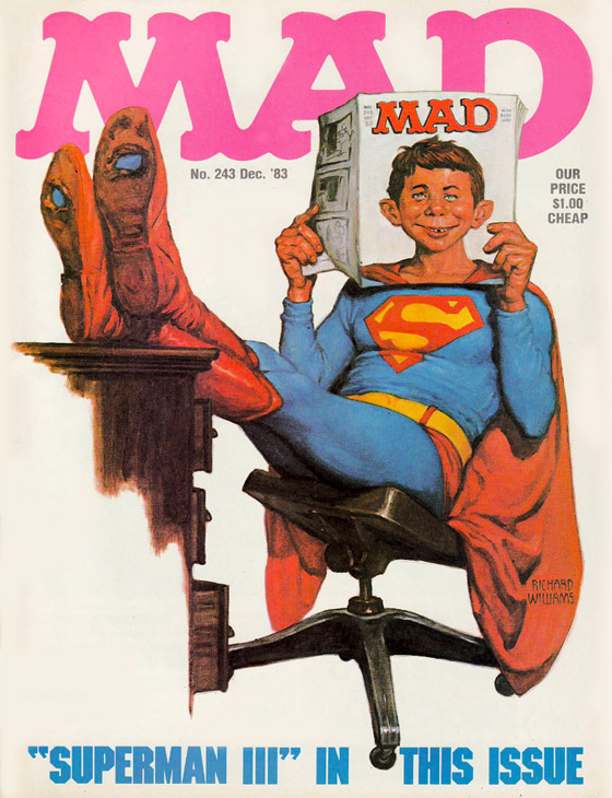 Terceiro Super-Homem da revista, de 1983.