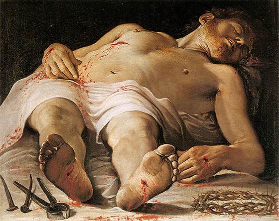 Caravaggio, um especialista em escorço no Barroco