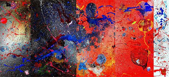 """Milky Way & Microscope"", 2011"