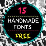 Free handmande fonts: download gratuito de 15 fontes feitas à mão