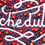 Fome de fonte: um perfil de lettering feito com comida