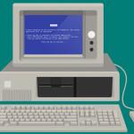 A evolução do Windows em um infográfico animado