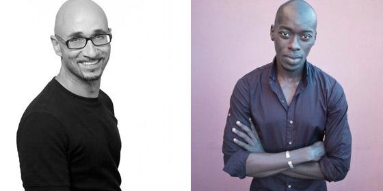 Antoine Tempé e Omar Victor Diop.