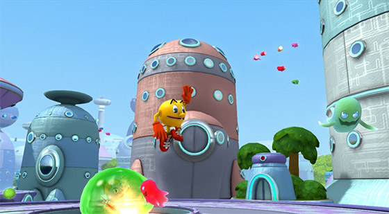 """""""Pac-man and the ghostly adventures"""" para Wii"""