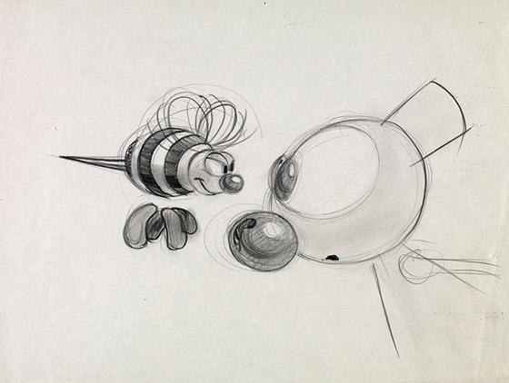 Sketch de Lasseter.