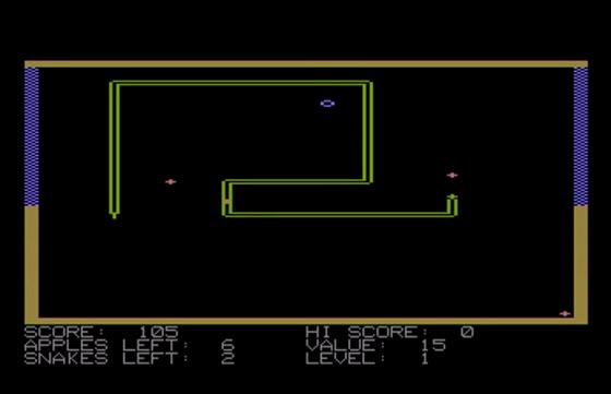 Snake no Apple II