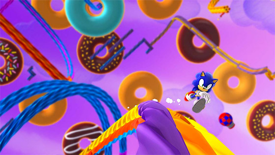 """Sonic Lost World"" para WiiU"