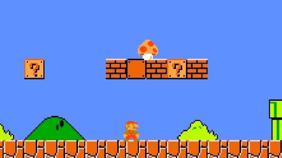 Super Mario para NES, 1985