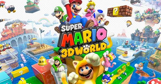 Super Mario 3D World para WiiU, 2014