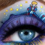 A artista visual que conta histórias com os olhos