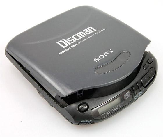 Sony Discman D121, 1993.