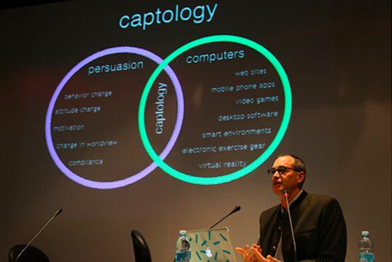 Captologia é a intersecção entre as ferramentas de persuasão e as ferramentas tecnológicas.