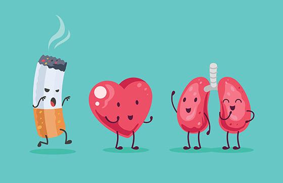 Parar de fumar é um exemplo de Black Path Behavior. (Imagem via Shutterstock).