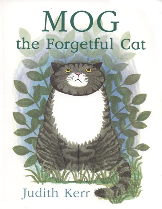 O primeiro livro estrelando Mog, em 1970.