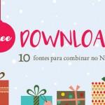 Free download: 5 combinações tipográficas com fontes gratuitas para o Natal