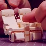 Companhia aérea cria réplica perfeita de avião em miniatura para mostrar que nenhum detalhe é pequeno demais