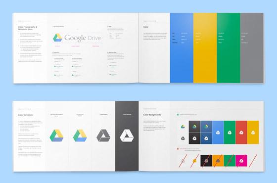 Guia do Google Drive, desenvolvido em parceira com a agência Upperquad.
