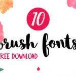 Free download: 10 fontes estilo Brush para baixar de graça