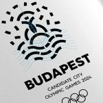 A identidade visual de Budapeste para as Olimpíadas de 2024