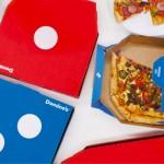 A caixa que é logotipo: Domino`s cria embalagem que se transforma no símbolo da marca
