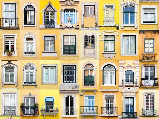 Lisboa em amarelo