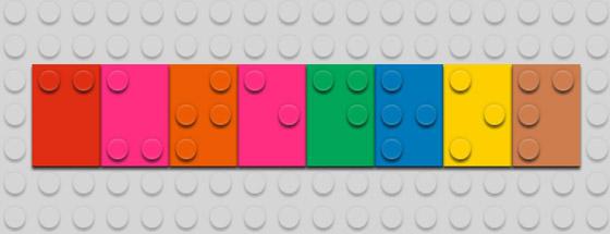 Cutedrop escrito em Braille Bricks.