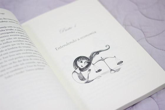 Exemplo de abertura de capítulo. Crédito da imagem: blog Morando sozinha.