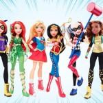 Mattel e DC Comics se unem e lançam linha de bonecas super heroínas