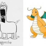 Ilustrador desenha Pokémons sem conhecê-los e o resultado é super divertido