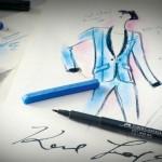 A cor do glamour! Karl Lagerfeld assina edição especial de lápis de cor e material de desenho