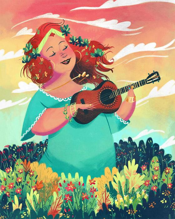 Beth Carvalho, por Beatriz Mayumi