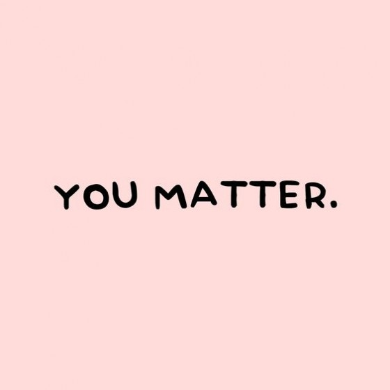 Você importa.