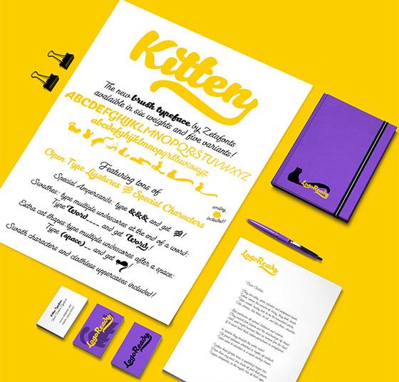 kitten-font-cutedrop