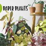 DIY: reaproveite sobras de papel e faça paper plants para decorar seu escritório